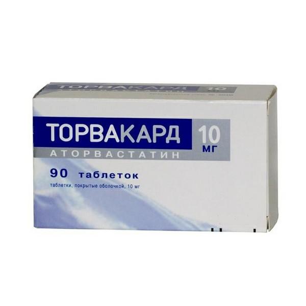 торвакард инструкция по применению цена отзывы аналоги таблетки