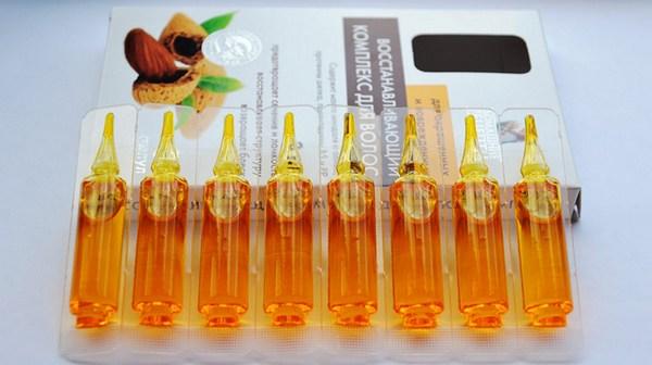 Маски из витаминов в ампулах