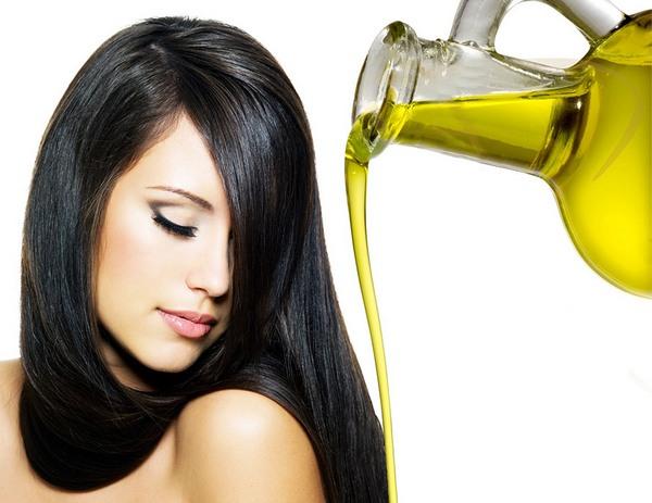 Выпрямление волос маслами