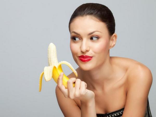 Использование банана от морщин