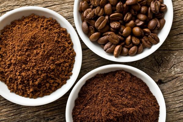 Приготовление средств из кофе