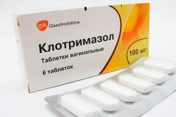 Инструкция по применению и цена таблеток Клотримазола