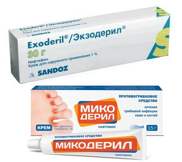Что эффективнее Микодерил или Экзодерил?