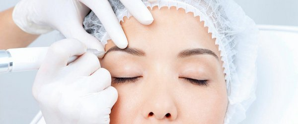 Процедура волоскового татуажа