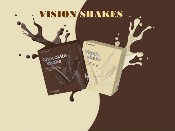 Kоктейли «Vision Shakes»