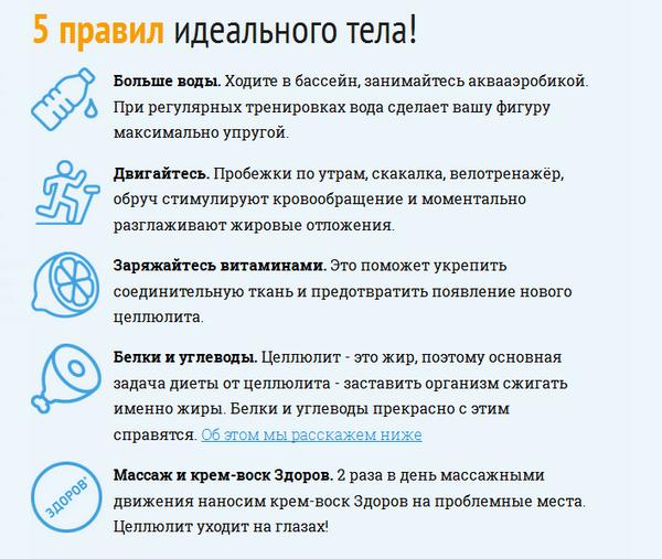 """Рекомендации по поводу применения крема """"Здоров"""""""