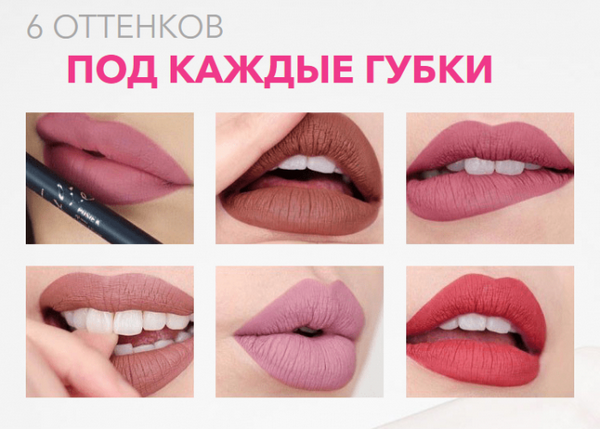 Оттенки помады «Kylie birthday edition»