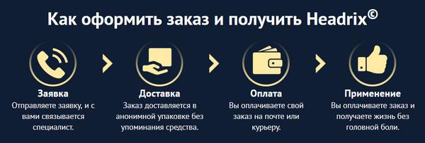 """Покупка средства """"Headrix"""""""