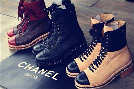 Обувь Chanel примеры